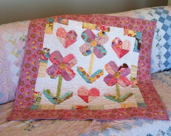 Ellie Rose Baby Quilt Pattern