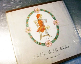 Journal - Vintage The DOLL in the WINDOW RARE Out of Print - Custom Order -  Scrapbook - Sketchbook - Notebook Recycled Upcycled
