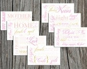 """Printable Bridal Shower Wine Basket """"year of firsts"""""""