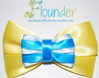 Flounder Hair Bow