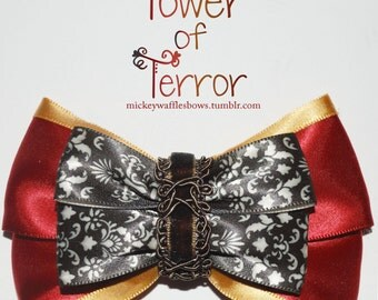 Tower of Terror Hair Bow