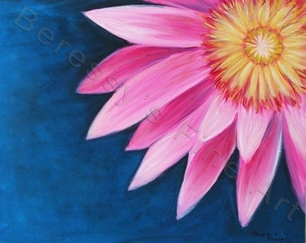 """FREE SHIPPING 16""""x20"""" Original Painting by Alexandra H. Beressy  """" Water Lily """""""