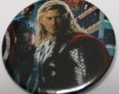 "Thor Chris Hemsworth Avengers Comic Button Marvel Comics 2-1/4"" Button"