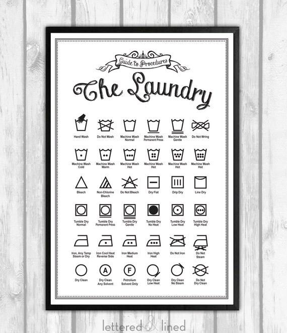 washing instruction symbols 30