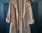 Amazing Agnona Woolen Mills Vintage Alpaca Wool Coat