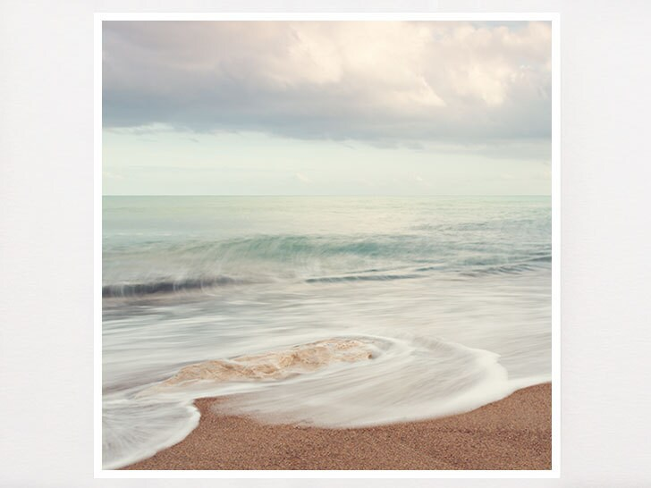 Beach Ocean Wall Decor : Beach photography decor seascape france pastel