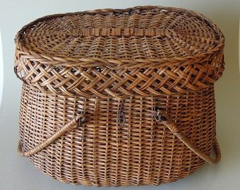 Antique Wicker Basket Handles