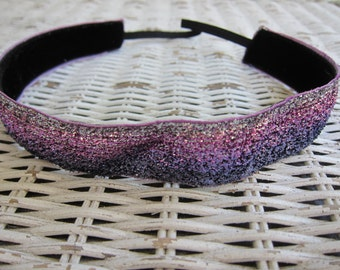 Purple Glitter Headband - Womens Sparkle Headband