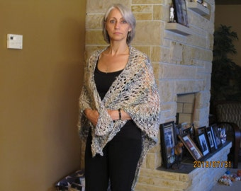 Knitted Prayer Shawl