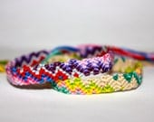READY TO SHIP- ZigZag Friendship Bracelet