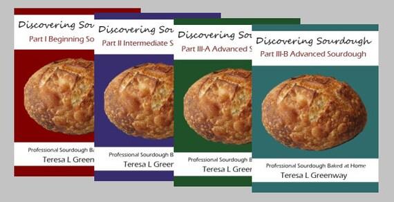 Discovering Sourdough - All four volumes- immediate PDF digital download  - 12.00.