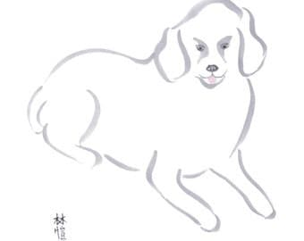 Chinese Zodiac Dog 8x10 print