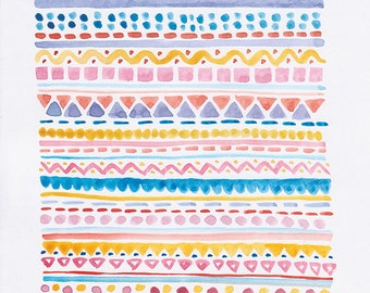SALE - Pattern No. 1 - Archival Art Print