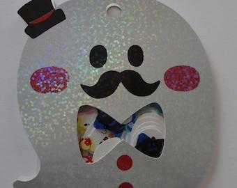 Japan Qlia kawaii GHOST 71 pcs stickers sack/71613