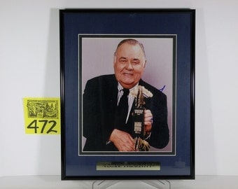 1990's Jonathan Winters Autographed Photo