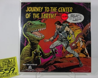 1960's Bell / High Camp Adventures Series #4-Journey to the Center of the Earth Album
