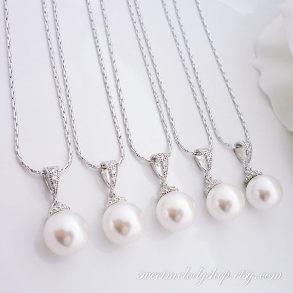 Etsy Wedding Gift Jewelry : Gift Wedding Jewelry Bridesmaid Jewelry Bridal Pearl Jewelry ...