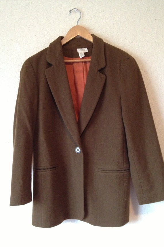 J. Crew Women's Brown Jacket/Coat