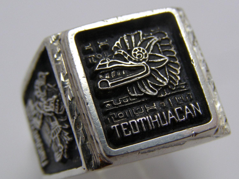 Vintage Aztec Ring