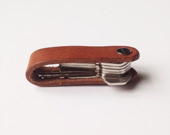 Fold Over Key Holder