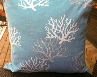 Pillow/Decorative Coral Print Pillow Cover