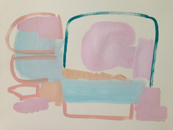 Abstract Paiting - 'Chasing Daydreams'