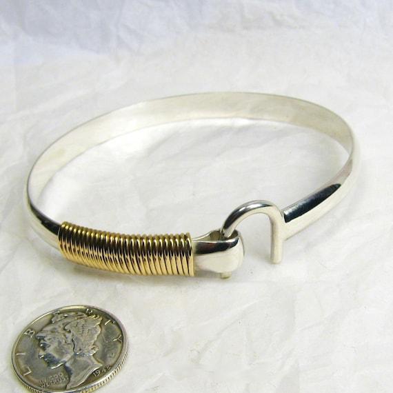 st croix hook bracelet 6 mm sterling silver 14k gold fill