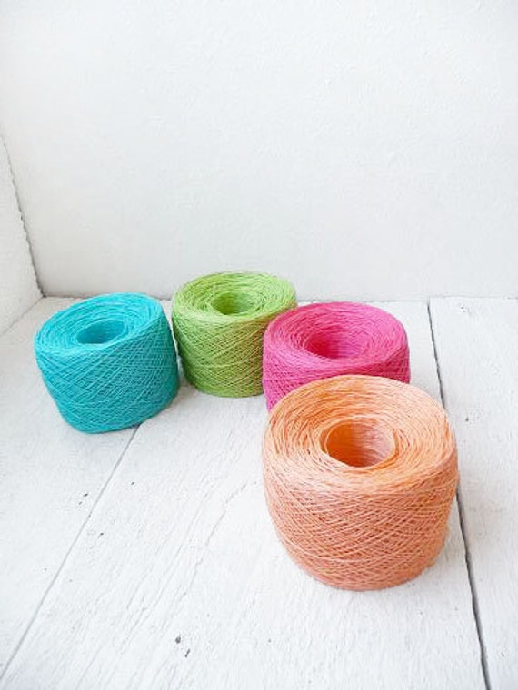 Laceweight Crochet Thread Bright Collection Pink