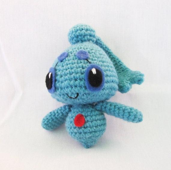 Amigurumi Crochet Patterns Pokemon : Pokemon 489 Phione Amigurumi