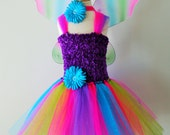 Girls Glitter Fairy Tutu Dress- Infant thru Girls 8