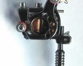SALE PRICE! Miniature Tattoo Gun Pendant Necklace 10% OFF