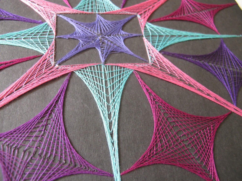 yarn string art - photo #9