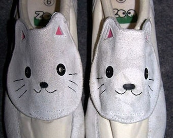 Kitty Cat Tennis Shoes