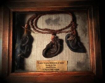 Human Trophy Ear Necklace