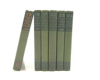 Vintage Book Collection - 1930s The American Rose Annual