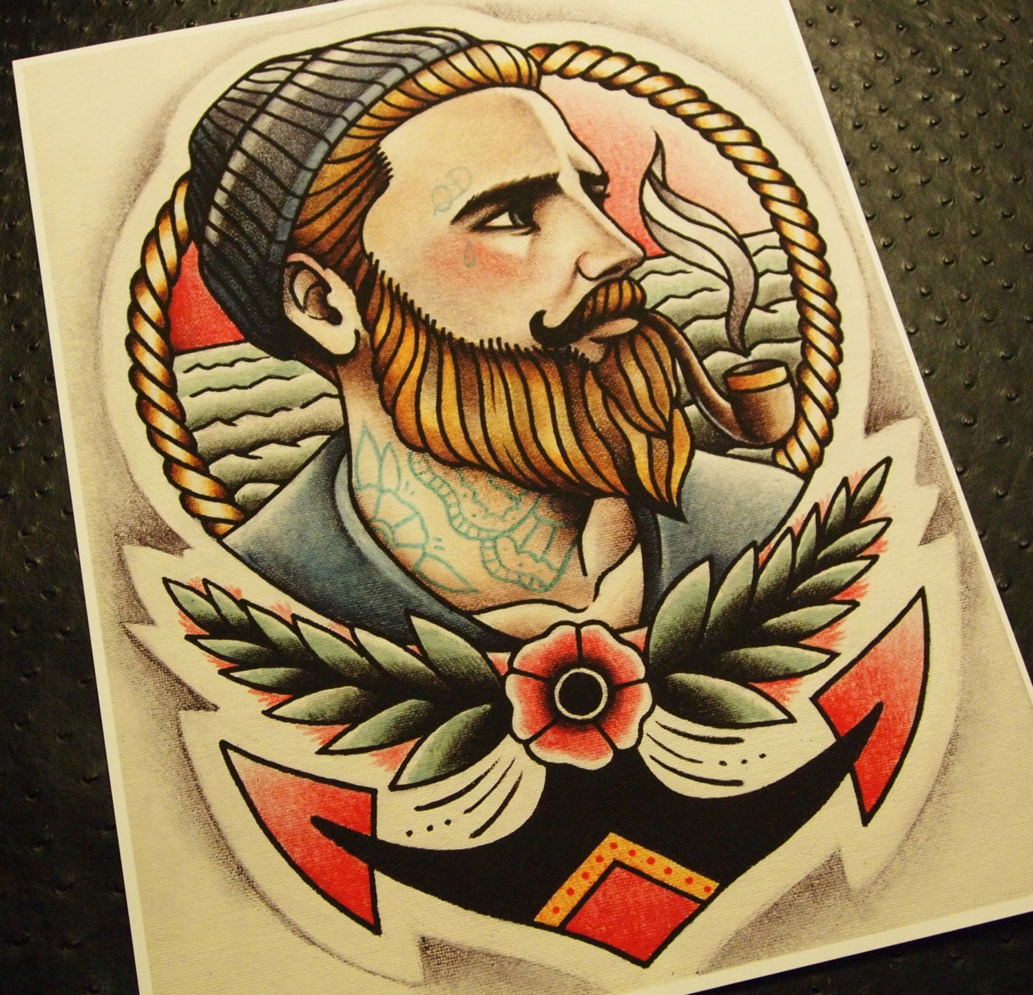 Traditional Ship Tattoo Flash Sailor Jerry Viewing Gallery