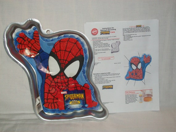 Wilton Spiderman Cake Pan Instructions