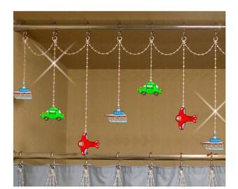 Plane shower curtain | Etsy