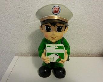 Mailman Coin Bank