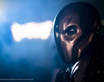 Arkham Origins Deathstroke Slade Mask