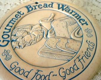 Vintage Gourmet Bread Warmer Decorative bread warmer  Retro vintage collectible bread warmer