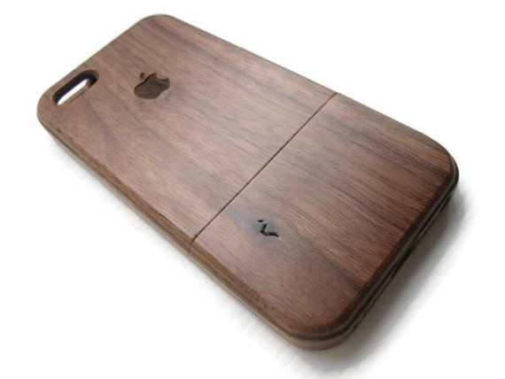 iphone 5 case / iphone 5S case wood - wooden iphone 5 case bamboo, cherry and walnut wood - Apple