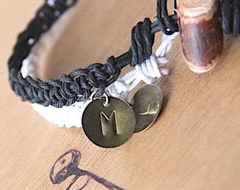 COUPLES BRACELETS- 2 matching bracelets, I Love You Bracelets, anniversary bracelets, anniversary gift, His and Hers bracelets , love gift