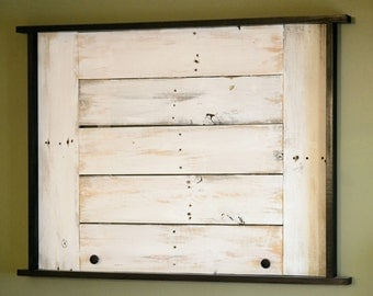 Reclaimed wood Art Easel Frame