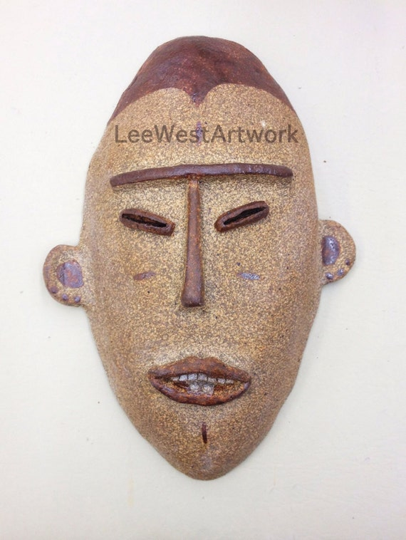 Igbo inspired Maiden Mask