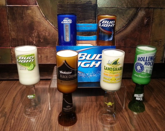 Six Pack of Scented Beer Bottle Candles (Get 6 for the Price of 5) Customize scent and beer type
