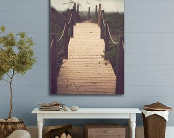 MidSummer Eve - Stretched Canvas Gallery Wrap - Beach, Summer, Decor, Cottage, Home, Wall, Hanging, Photograph, Photography, Coastal, Serene