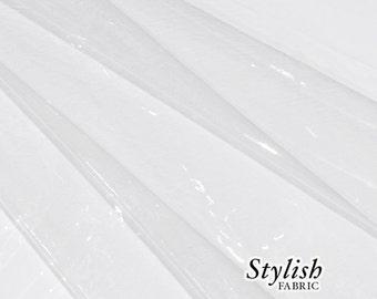 24 Gauge Clear Vinyl PVC - 1 Yard Style 990-CLEAR-VINYL-24