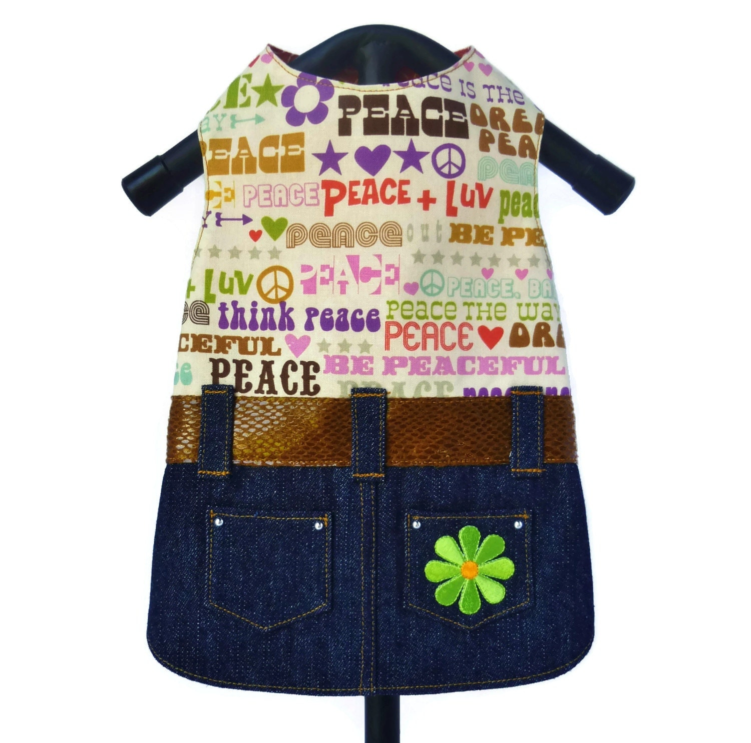 Ready Made Clothing : Small ready made little dog clothes dress in a by