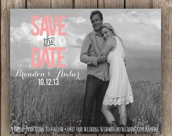 Save The Date Download - Perfect Magnet Sized Printable